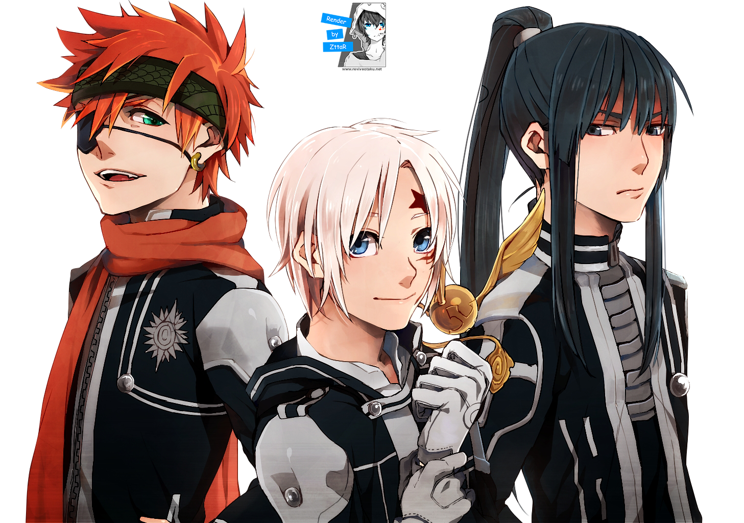 Render Lavi, Walker Allen and Kanda Yuu ~2 versiones~