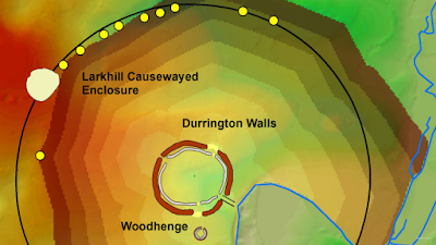 Archaeologists locate the giant ring of the well near Stonehenge
