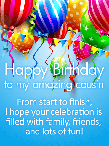 Happy Birthday Wishes Cousin
