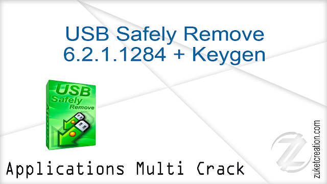 USB Safely Remove 6.2.1.1284 + Keygen