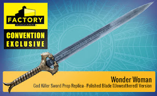SDCC 2018 Factory Entertainment Wonder Woman God Killer Sword Prop Replica 01