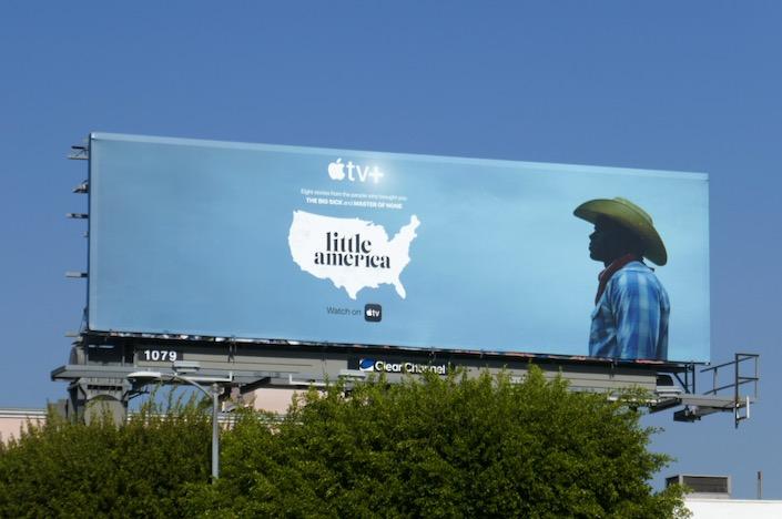 Little America Apple TV+ billboard