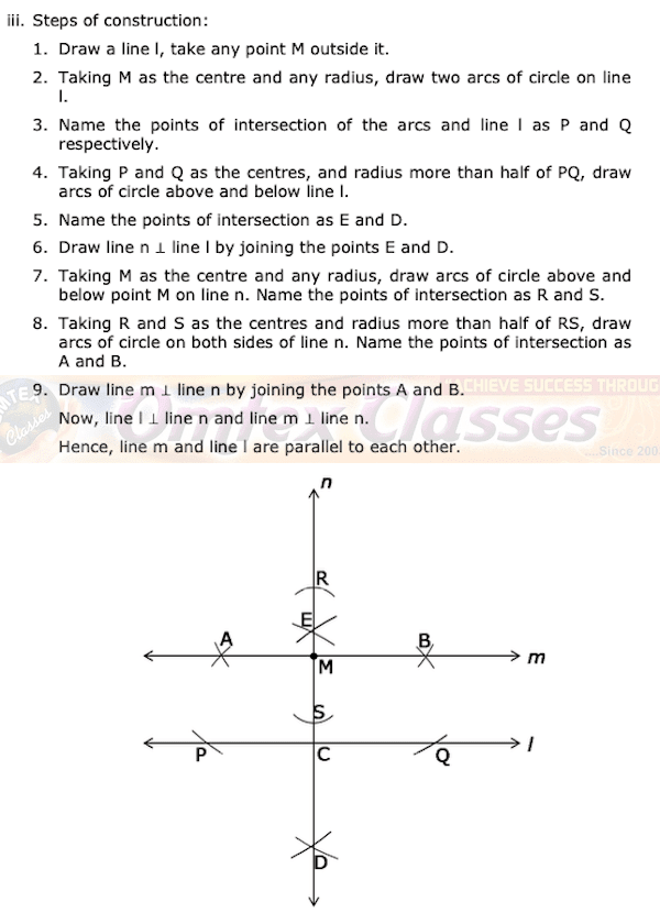 9th Standard Geometry Maharashtra Board Question Papers with Complete Solution.