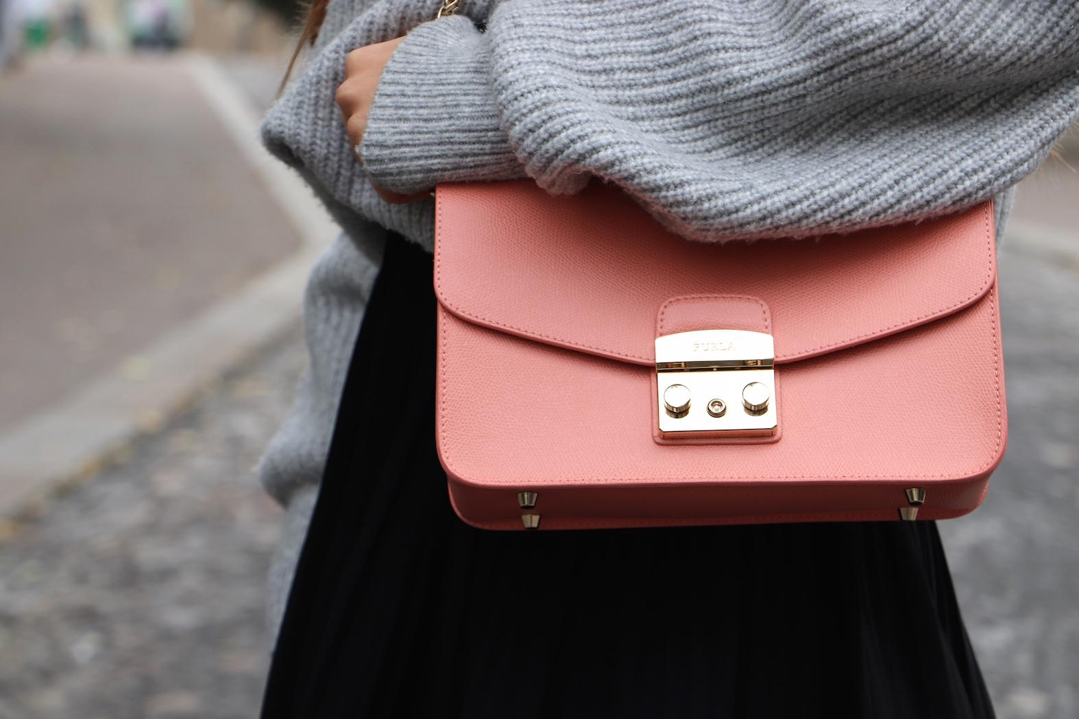 sac furla rose