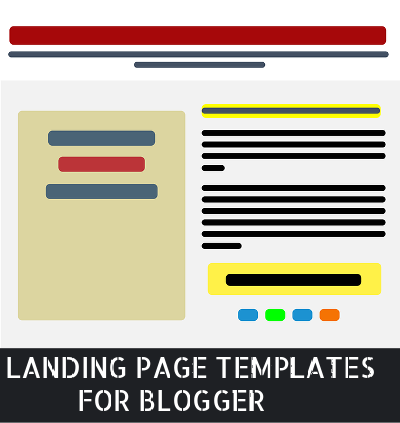 landing page templates for blogger free download