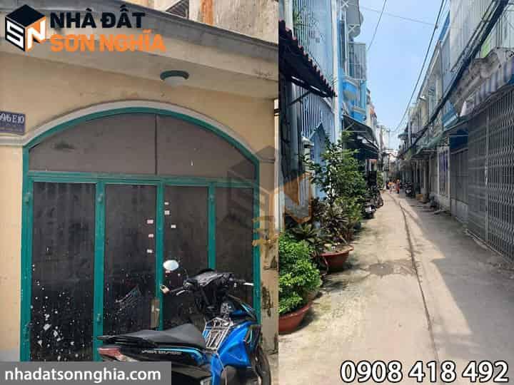 Bán nhà cấp 4 cũ hẻm 15 Phạm Văn Chiêu phường 14 quận Gò Vấp