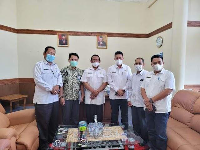 Sekda Drs. Haili Yoga, M.Si Terima  Kunjungan Kerja  Perwakilan BPS Provinsi Aceh