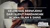 Kelebihan Berwudhu Dari Sudut Pandangan Agama Islam & Sains
