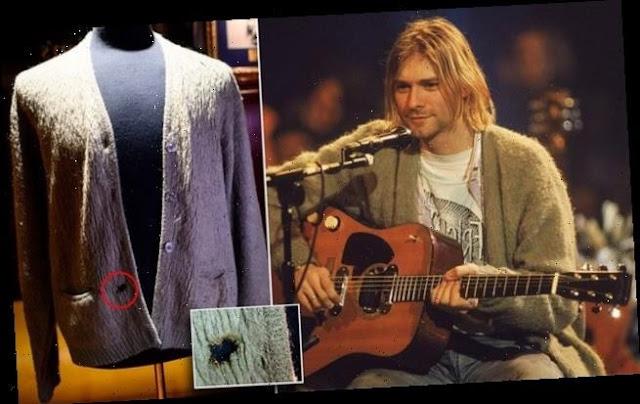 Record all'asta, la maglia di Curt Cobain in vendita per $ 334 mila