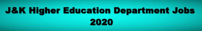 [JK-UT] 572 Posts Approved for Newly Established Govt Degree Colleges – Direct Recruitment