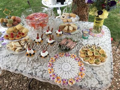 Tea Table Spread