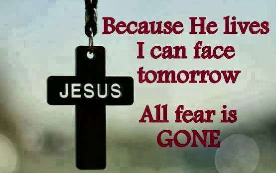 No Fear Jesus With Me