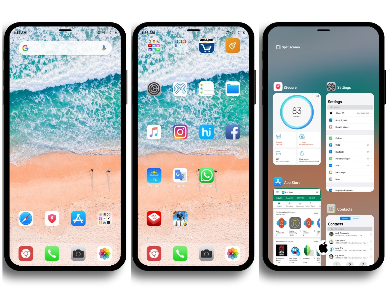 iPhone iOS 12 MIUI Theme Download For Xiaomi Mobile || MIUI