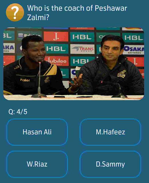 coach of Peshawar Zalmi?