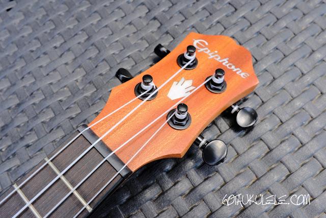 Epiphone EpiLani Soprano Ukulele headstock