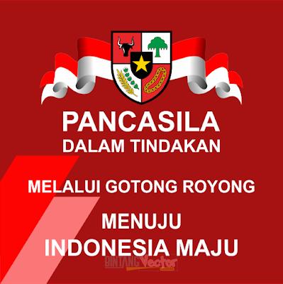 Harlah PANCASILA 2020 Logo Vector .CDR, .EPS, .AI, .PNG