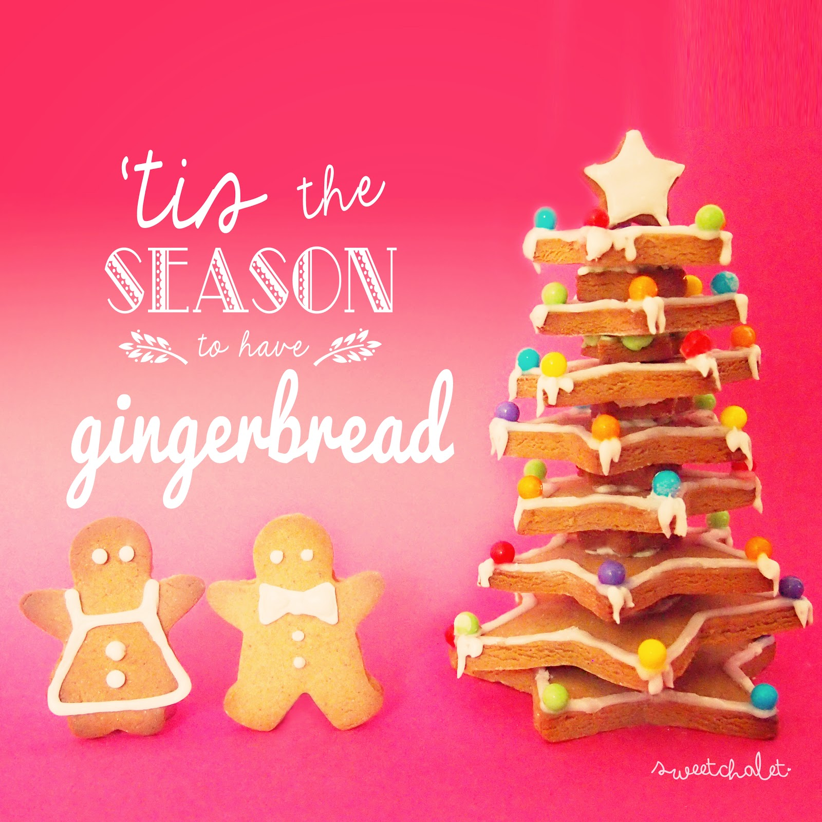 tis the season to have gingerbread (cookies)!