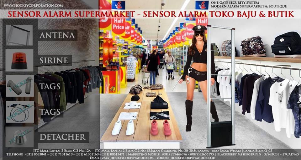 alarm security toko baju dan butik
