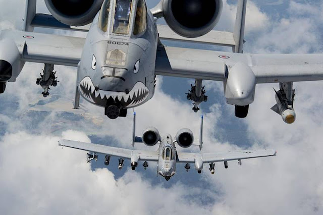A-10 pilots awarded trophy for 'most meritorious flight'