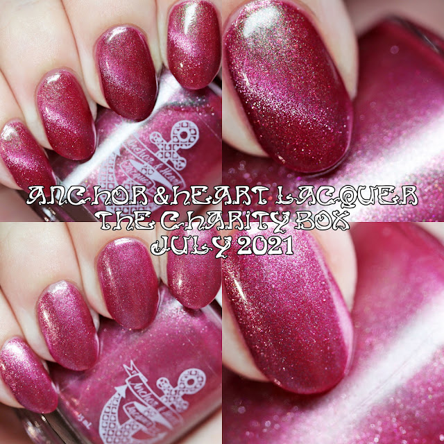 Anchor & Heart Lacquer In the Wild The Charity Box July 2021