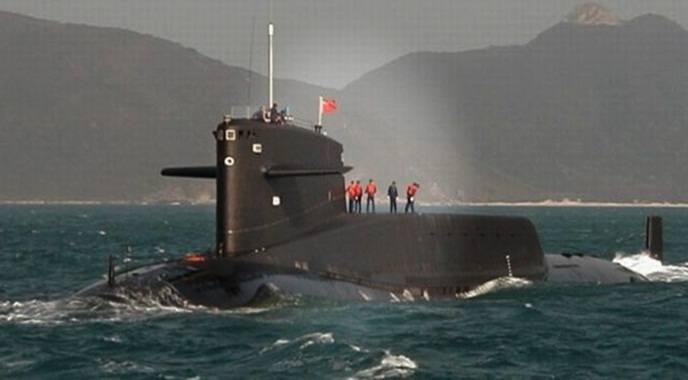 "Kapal selam siluman China terbaru ""Jin Class Submarine (SSBN)"