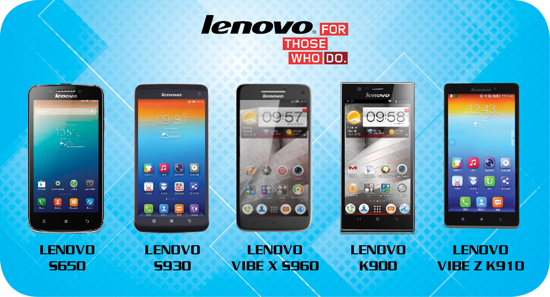 Techbox Lenovo Phone Range