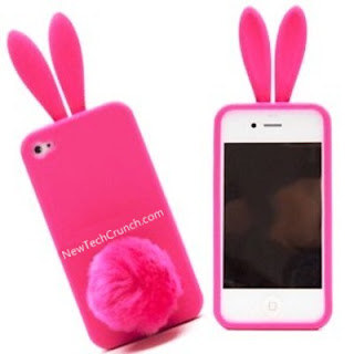 Pink Bunny Cute iPhone 5 Case for Girls