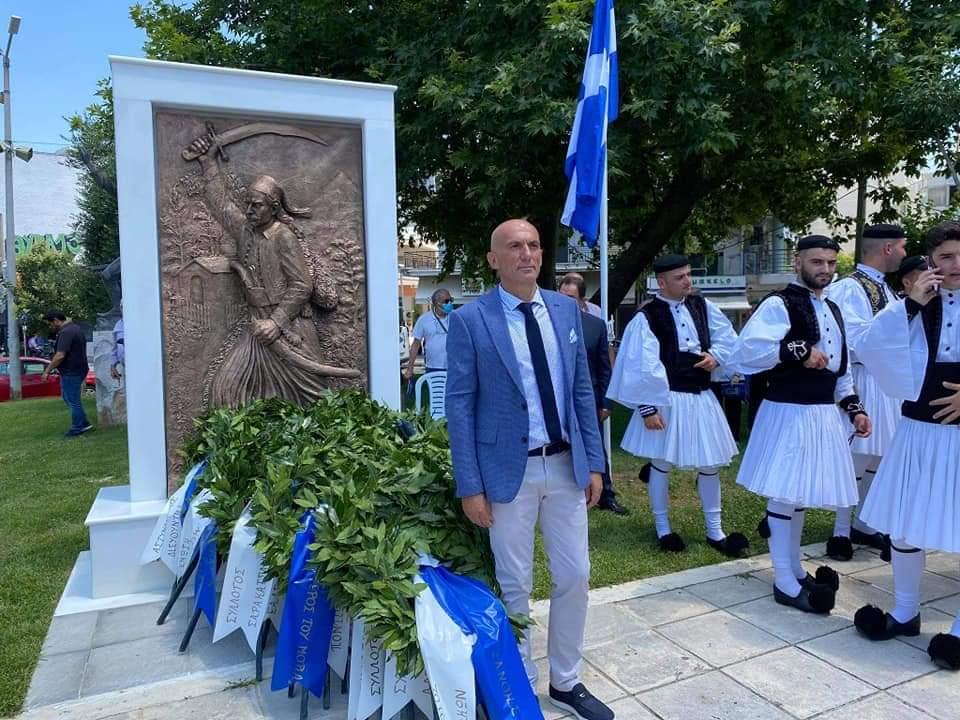 Μνημείο Σαρακατσάνων Αγωνιστών του '21 απέκτησε η Ξάνθη