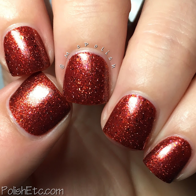 Pahlish - Hothouse Flowers - McPolish - Flame of the Forest