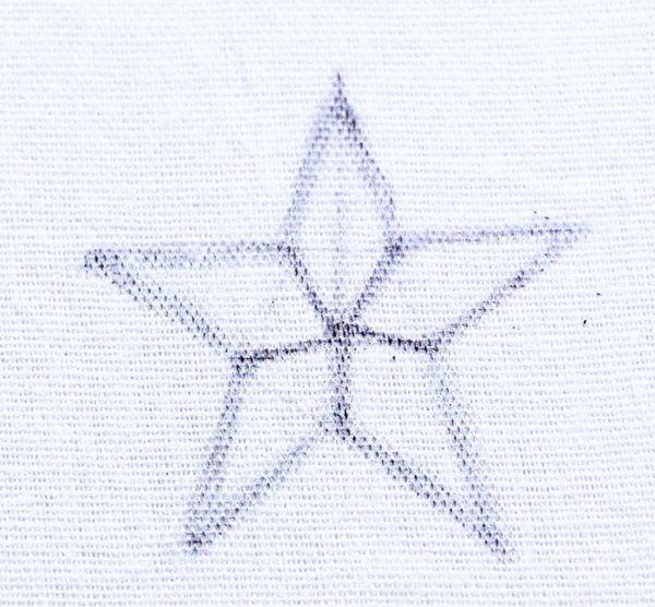 Hướng dẫn thêu ngôi sao - Hình 1