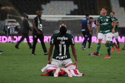 ملخص وهدف فوز بالميراس علي سانتوس في الوقت القاتل (1-0) نهائي كوبا ليبرتادوريس
