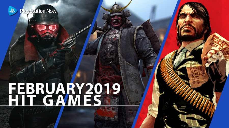 playstation now fallout new vegas for honor rdr hit ps4 games march 2019 prey