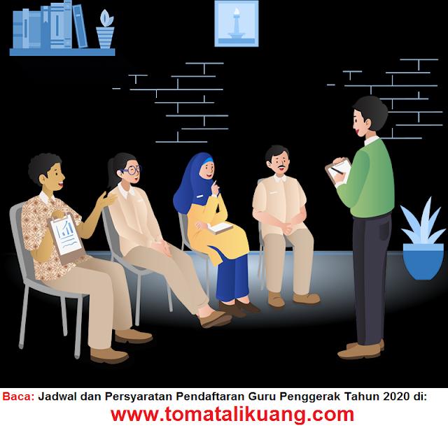 Jadwal dan Persyaratan Pendafataran Guru Penggerak Tahun 2020 tomatalikuang.com