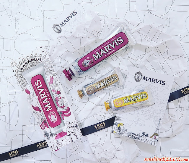 MARVIS Wonders Of The World Limited Edition Toothpaste Collection