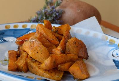 patate dolci al forno