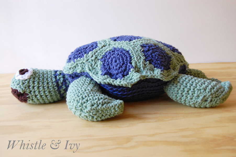 Joann's Cape Discovery Crochet Sea Turtle - Whistle and Ivy