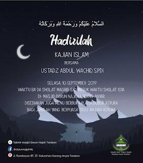 Hadililah Kajian Islam Bersama Ustadz Abdul Wachid di Masjid Darun Najah Karang Anyar Tarakan - Kajian Islam Tarakan