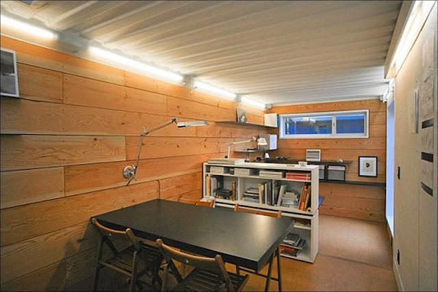 escritorio Casa containers