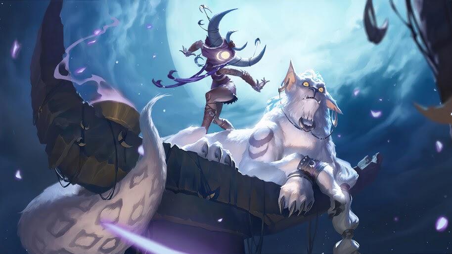 Moondreamer, Targon, Legends of Runeterra, 4K, #5.2732