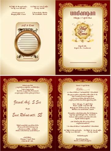 50 Desain Undangan Pernikahan HardCover | Harga Printer ...
