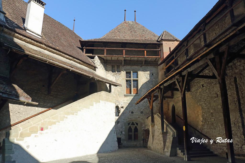 Pasarelas del castillo de Chillon
