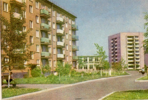 1962 год. Живые дома на Югле
