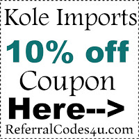 Kole Imports Discount Code 2016-2021, Kole Imports Coupons October, November, December