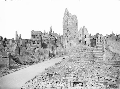 Arras city hall, May 1917