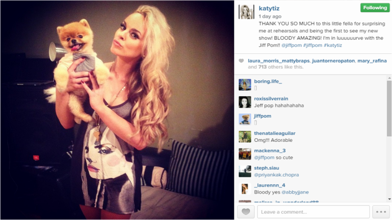 Katy Tiz Style Photo with Dog