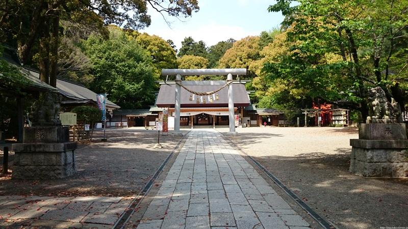 ศาลเจ้าโทคิวะจินจะ (Tokiwa Jinja Shrine: 常磐神社)
