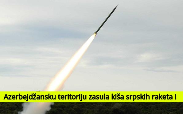Azerbejdžan izveštava da Jermenci koriste srpske rakete koje imaju domet preko 40 km
