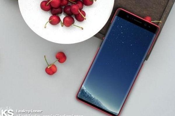 Samsung Galaxy Note 8'in Yeni Görseli