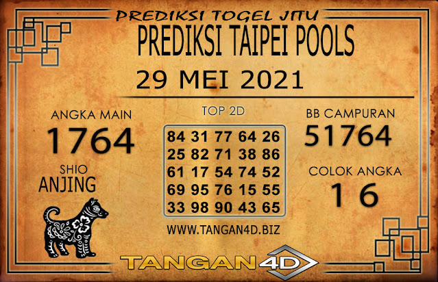 PREDIKSI TOGEL TAIPEI TANGAN4D 29 MEI 2021