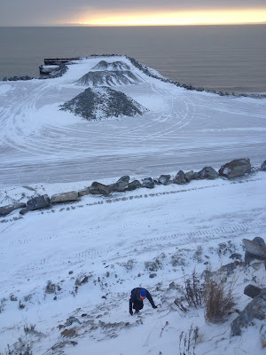 Cape Nome ice climbing